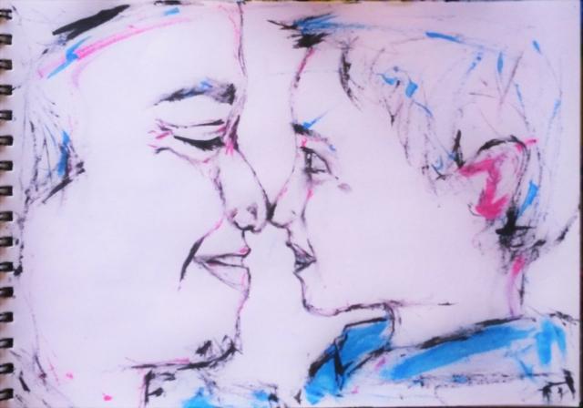 Father & Son - Sketches - ItyArt - Ilary Tiralongo